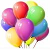 Оформление шарами,   живыми цветами,   тканями