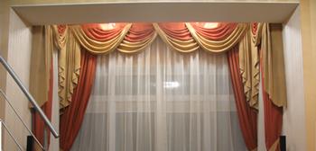 Пошив штор дизайнер выедет к Вам по Москве в течение дня